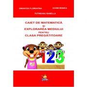Caiet de matematica si explorarea mediului pentru clasa pregatitoare